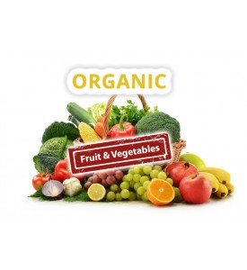 Organic Basket - Fruit & Vegetables