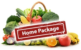 Fruit And Vegetables - Home Package