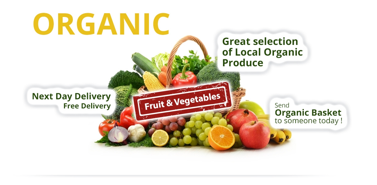 Organic Basket - Fruit & Vegetables delivery
