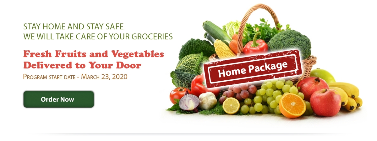 Fruits & Vegetables delivered to your door